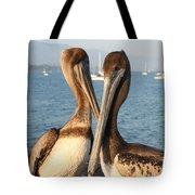 California Pelicans Tote Bag