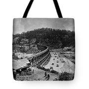 California Railroad Tote Bag