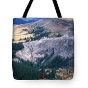 Camping On The Colorado Trail Tote Bag