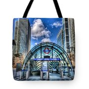 Canary Wharf Station Tote Bag