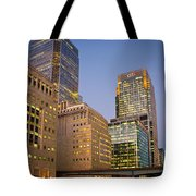 Canary Wharf. Tote Bag