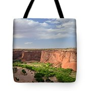 Canyon De Chelly From Sliding House Overlook Tote Bag