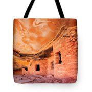 Canyon Ruins Tote Bag