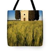 Cappella Di Vitaleta Tote Bag