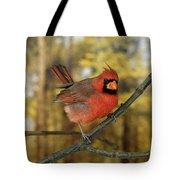 Cardinal Rouge Cardinalis Cardinalis Tote Bag