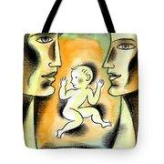 Caring Family Tote Bag