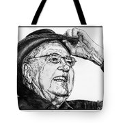 Carroll Shelby In 2006 Tote Bag