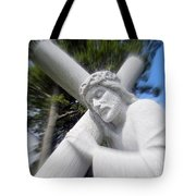 Carrying The Cross Tote Bag