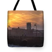 Castle Of Saint Sebastian Cadiz Spain Tote Bag