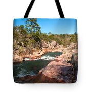 Castor River Shut Ins Tote Bag