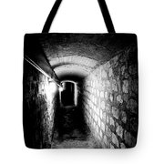 Catacomb Tunnels In Paris France Tote Bag