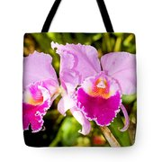 Cattleya Orchid Tote Bag