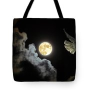 Caught By The Moon Tote Bag