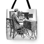 Census Machine, 1890 Tote Bag
