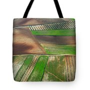 Cereal Fields From The Air Tote Bag
