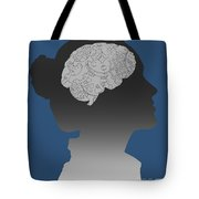 Cerebral Activity In Woman Tote Bag