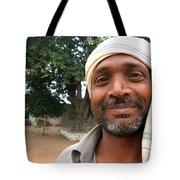 Chanderi Man Tote Bag