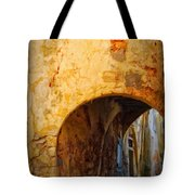Chania Alley Tote Bag