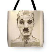 Vintage Charlie Chaplin Tote Bag