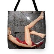 Charlize Theron Tote Bag