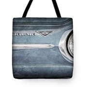 Chevrolet Corvair Emblem Tote Bag