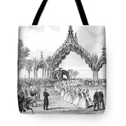 Chicago Lincoln Funeral Tote Bag