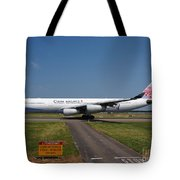 China Airlines Airbus A340 Tote Bag