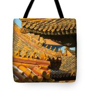 China Forbidden City Roof Decoration Tote Bag