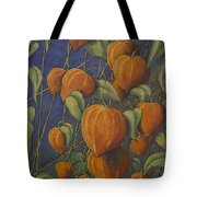Chinese Lanterns Tote Bag