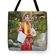 Chinese Opera Girl - In Full Traditional Chinese Opera Costumes. Tote Bag
