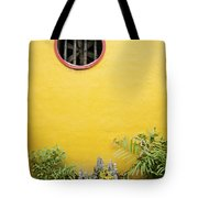 Chinese Temple Garden Detail In Vietnam Tote Bag