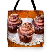 Chocolate Caramel Cupcakes Tote Bag