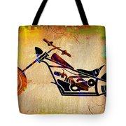 Chopper Art Tote Bag