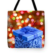 Christmas Box Tote Bag