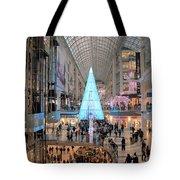 Christmas Shopping In Toronto Tote Bag