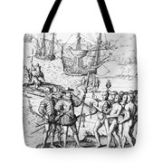 Christopher Columbus (1451-1506) Tote Bag
