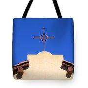 Church Cross Tote Bag
