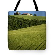 Church In The Field Tote Bag