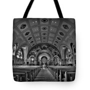Church Of Saint Bernard Tote Bag