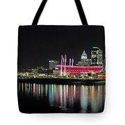 Cincinnati Skyline 3 Tote Bag