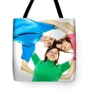 Circle Of Best Friends Tote Bag