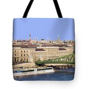 City Of Budapest In Hungary Tote Bag