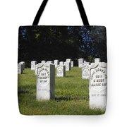 Civil War Dead At Arlington Tote Bag