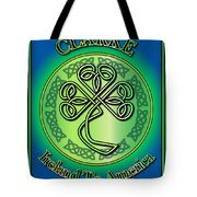 Clarke Ireland To America Tote Bag