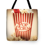 Classic Vintage Cinema Tote Bag