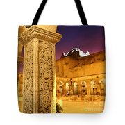 Cloisters At Sunset Arequipa Tote Bag