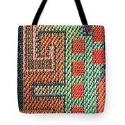 Cloth Pattern Tote Bag