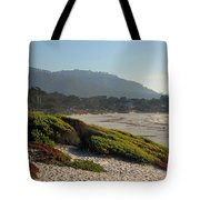 Coastal View - Ice Plant  Tote Bag