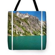 Colchuck Lake, Alpine Lakes Wilderness Tote Bag