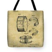 Collapsible Drum Patent 008 Tote Bag